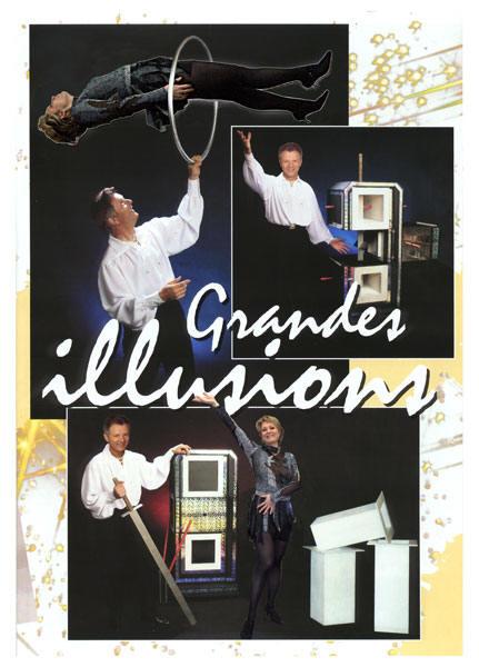 Un tour de Grandes Illusions du magicien